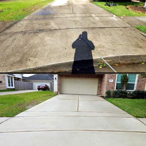 Concrete Pressure Washing Services Houston/La Porte, TX