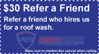 Save Money on Referring Roof Washing Services near me